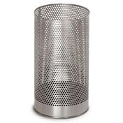 Blomus - Pako Papierkorb 65115 - Edelstahl/Edelstahl/mit Kunststoffeinsatz/H: 38,0 cm