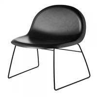 Gubi - Gubi 3D Lounge Chair With Sledge Base