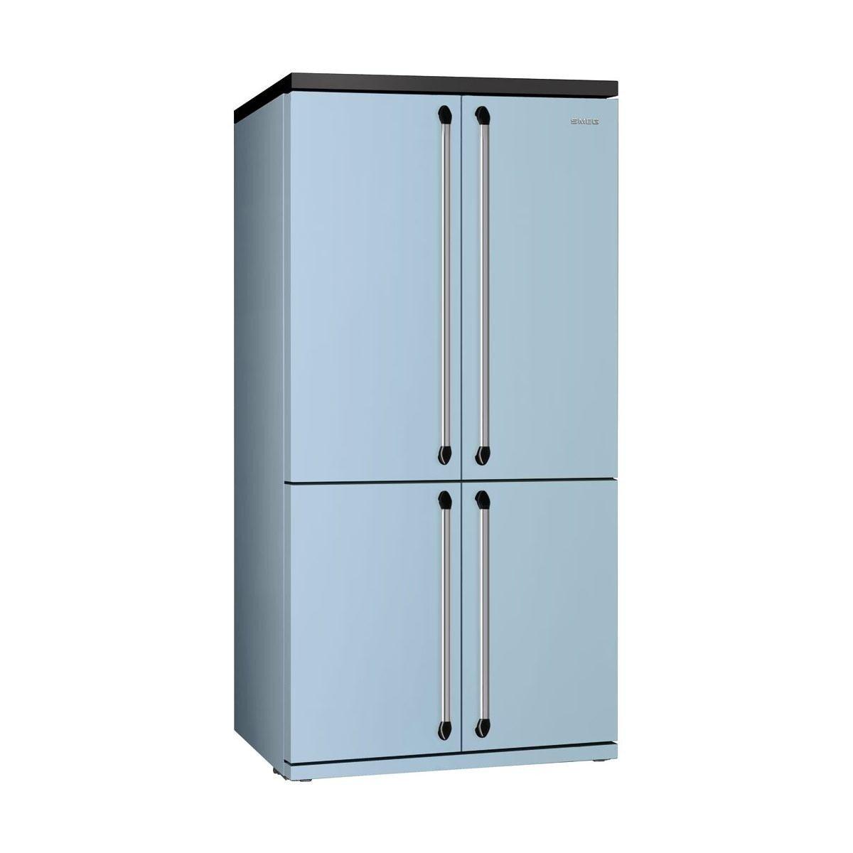 smeg fq960pb side by side refrigerator ambientedirect. Black Bedroom Furniture Sets. Home Design Ideas