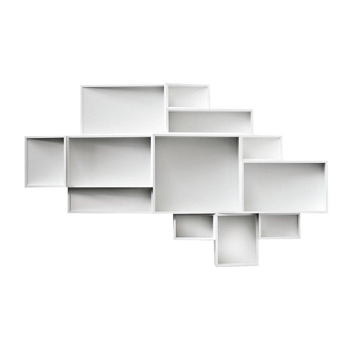 Kristalia   SheLLf Wall Shelf L   White ...