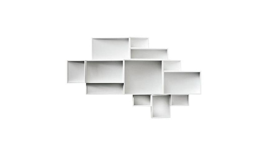 Kristalia   SheLLf Wall Shelf L   White (RAL 9010)/lacquered/12 ...