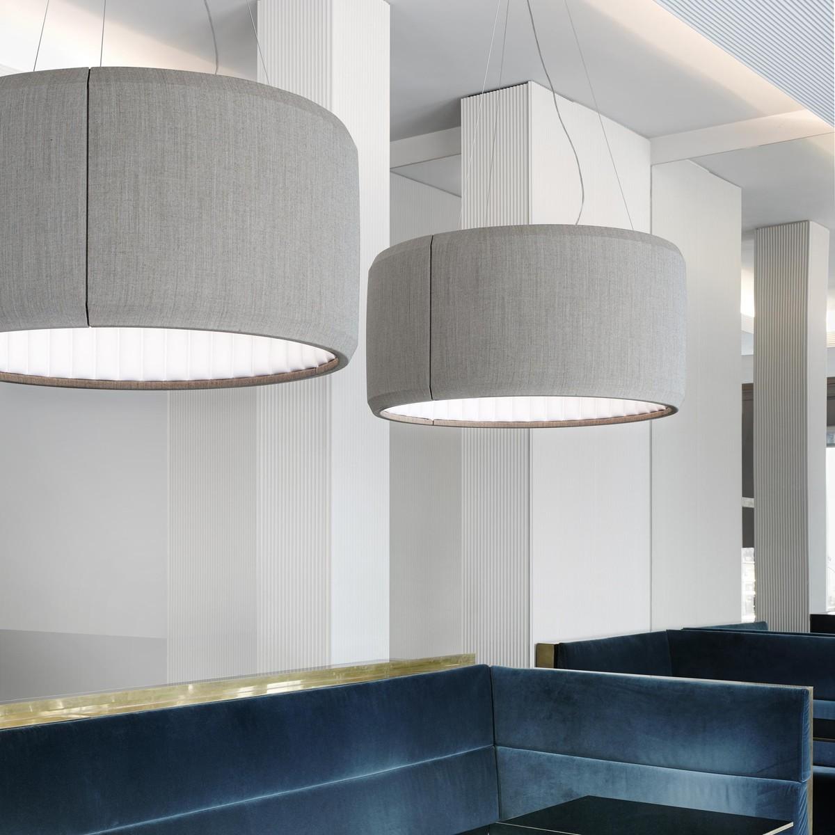 silenzio 120 suspension lamp luceplan. Black Bedroom Furniture Sets. Home Design Ideas