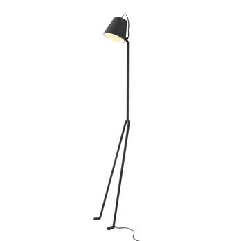 DesignHouseStockholm - Mañana Stehleuchte - grau/lackiert/Fußdimmer/H 170cm/Ø 40cm
