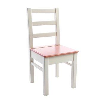 Kinderbunt - Lea Spielstuhl - weiß/rosa