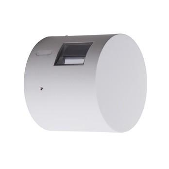 Artemide - Effetto 16R LED Outdoor Wandleuchte 3000K - hellgrau/Lichtfarbe 3000 Kelvin warmweiß/Ø 16cm