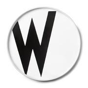 Design Letters - Design Letters Porzellan Teller W