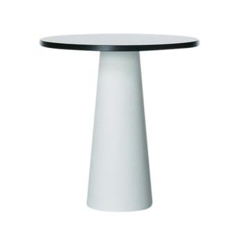 Moooi - Container Tisch rund - weiß/Laminat/Ø 70cm/H70cm