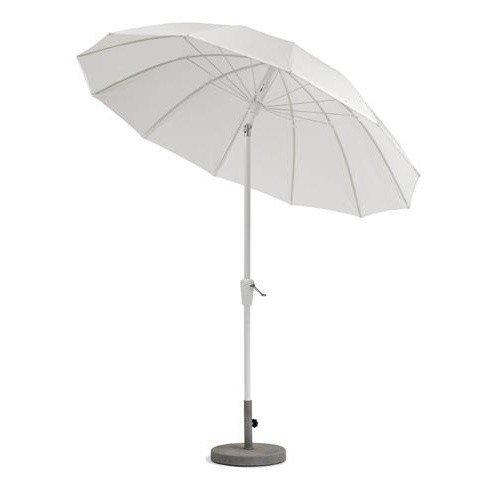 pagode parasol avec manivelle 240cm weish upl. Black Bedroom Furniture Sets. Home Design Ideas