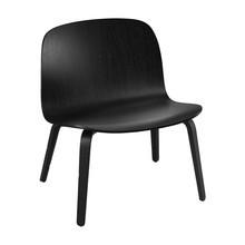 Muuto - Visu Lounge Chair With Wood Frame