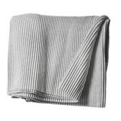 DesignHouseStockholm - Pleece Throw Tagesdecke  - hellgrau/140x220cm