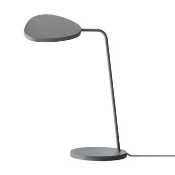 Muuto - Leaf LED Tischleuchte - grau/lackiert/H: 41,5cm