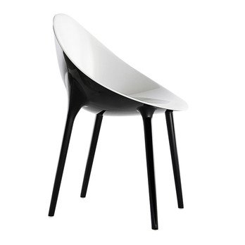 Kartell - Super Impossible Armchair - white/black