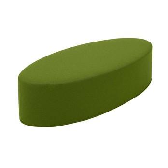 Softline - Bon-Bon Pouf M - limetten-grün/Stoff Filz 855/BxHxT 100x33x40cm/Bezug abziehbar