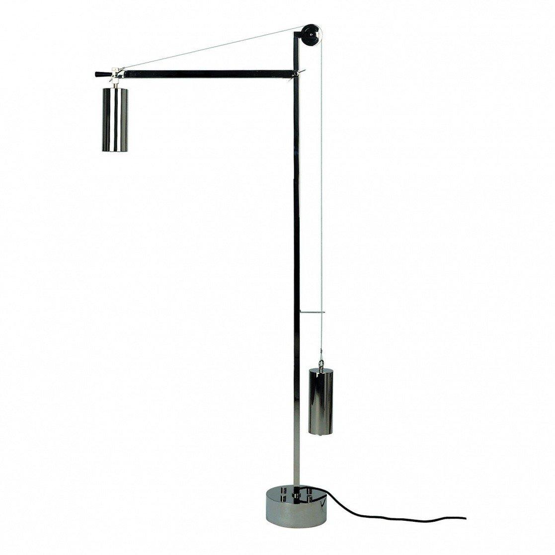 Eb 27 bauhaus floor lamp with counterbalance tecnolumen tecnolumen eb 27 bauhaus floor lamp with counterbalance aloadofball Images