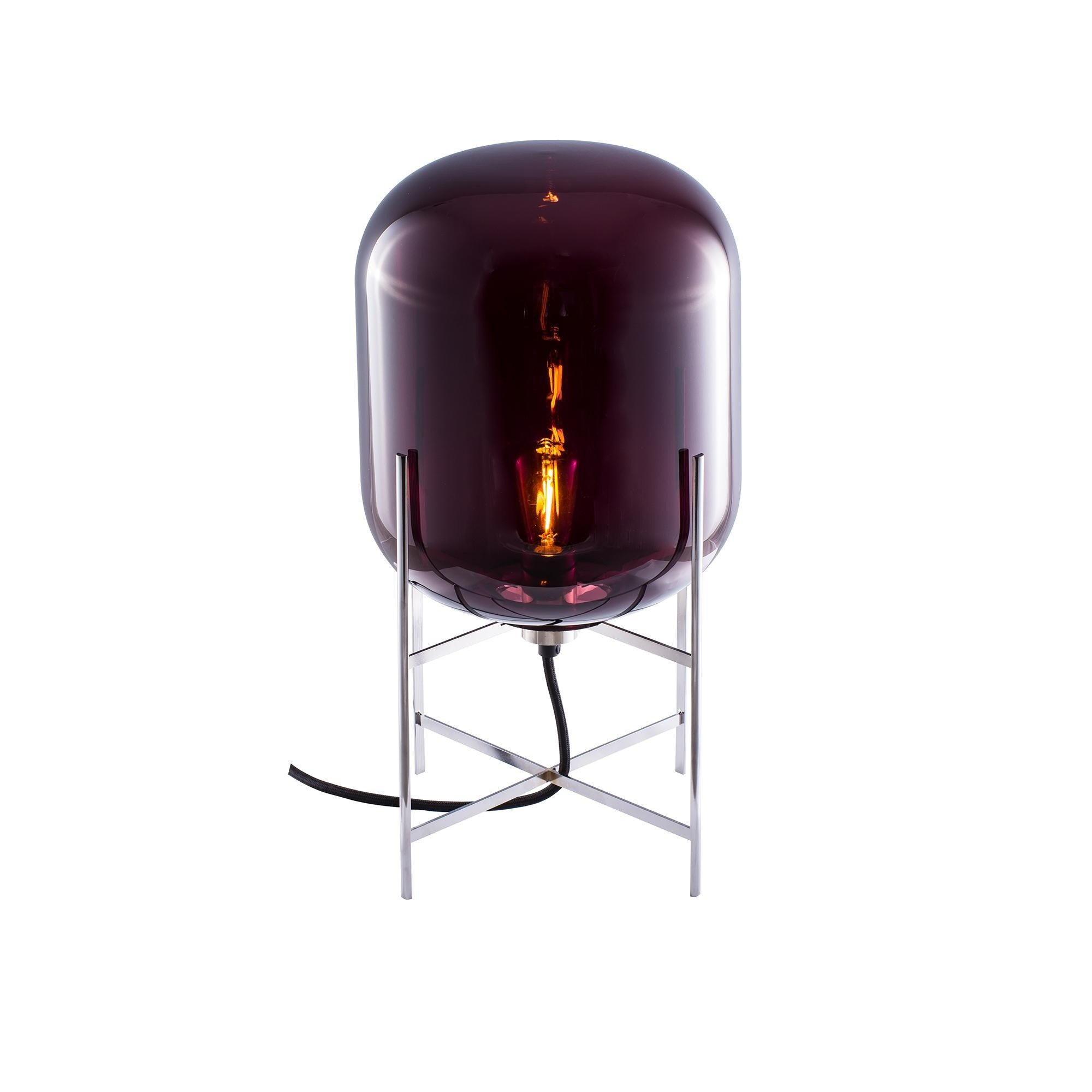 Oda table lamp h 45cm pulpo ambientedirect pulpo oda table lamp h 45cm aubergineframe mozeypictures Image collections