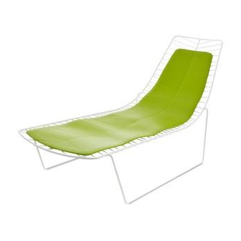 Arper - Leaf Auflage - grün/Polyurethan