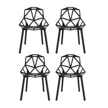 Magis - Chair One Stuhl stapelbar 4er Set