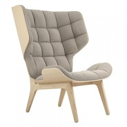 NORR 11 - Fauteuil Mammoth structure chêne naturel