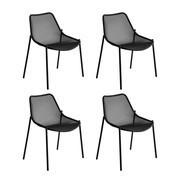 emu - Set de 4 chaises de jardin Round