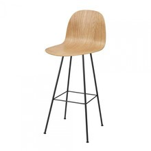 Gubi - Gubi 2D Bar Chair - Tabouret de bar