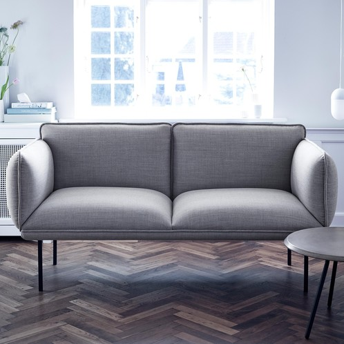 Woud - Nakki 2-Sitzer Stoffsofa