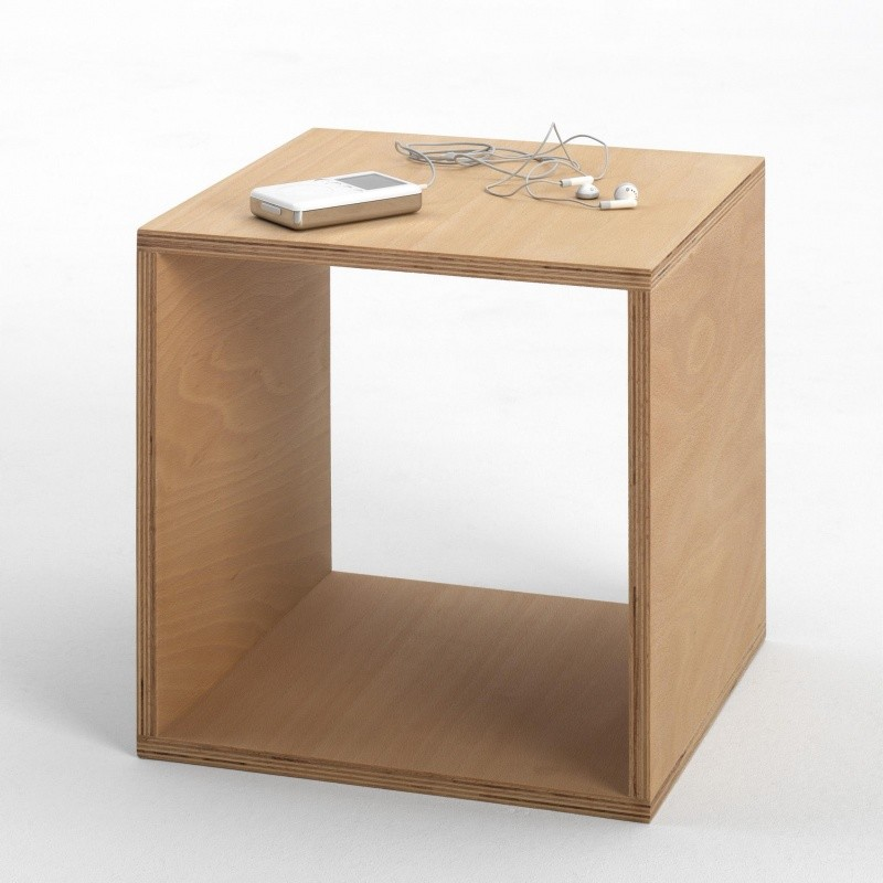 Tojo cube bed table 35x35 cm tojo for Beistelltisch 35x35