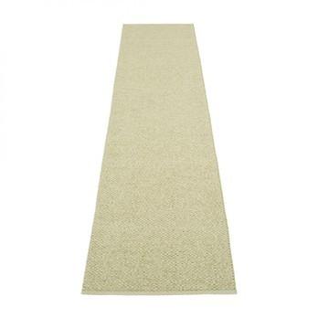 pappelina - Svea Teppich 70x320cm - olivgrün metallic/seegras