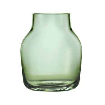 Muuto - Silent Vase - grün/Größe 1: Ø11cm