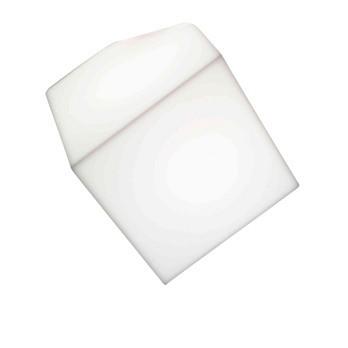 Artemide - Edge 30 Wandleuchte / Deckenleuchte - weiß/Polypropylen/Kantenlänge: 30cm/LxBxH 48.5x43x43cm