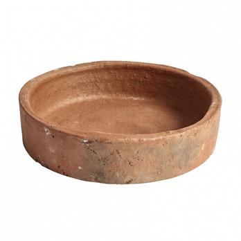 - HAY Terracotta Dish Schale - orange/H 6.5cm/Ø 27cm