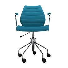 Kartell - Maui Soft Bürostuhl mit Armlehnen
