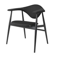 Gubi - Masculo Dining Chair Wood Base