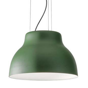 Martinelli Luce - Cicala LED Pendelleuchte - grün/matt/3000K/1750lm