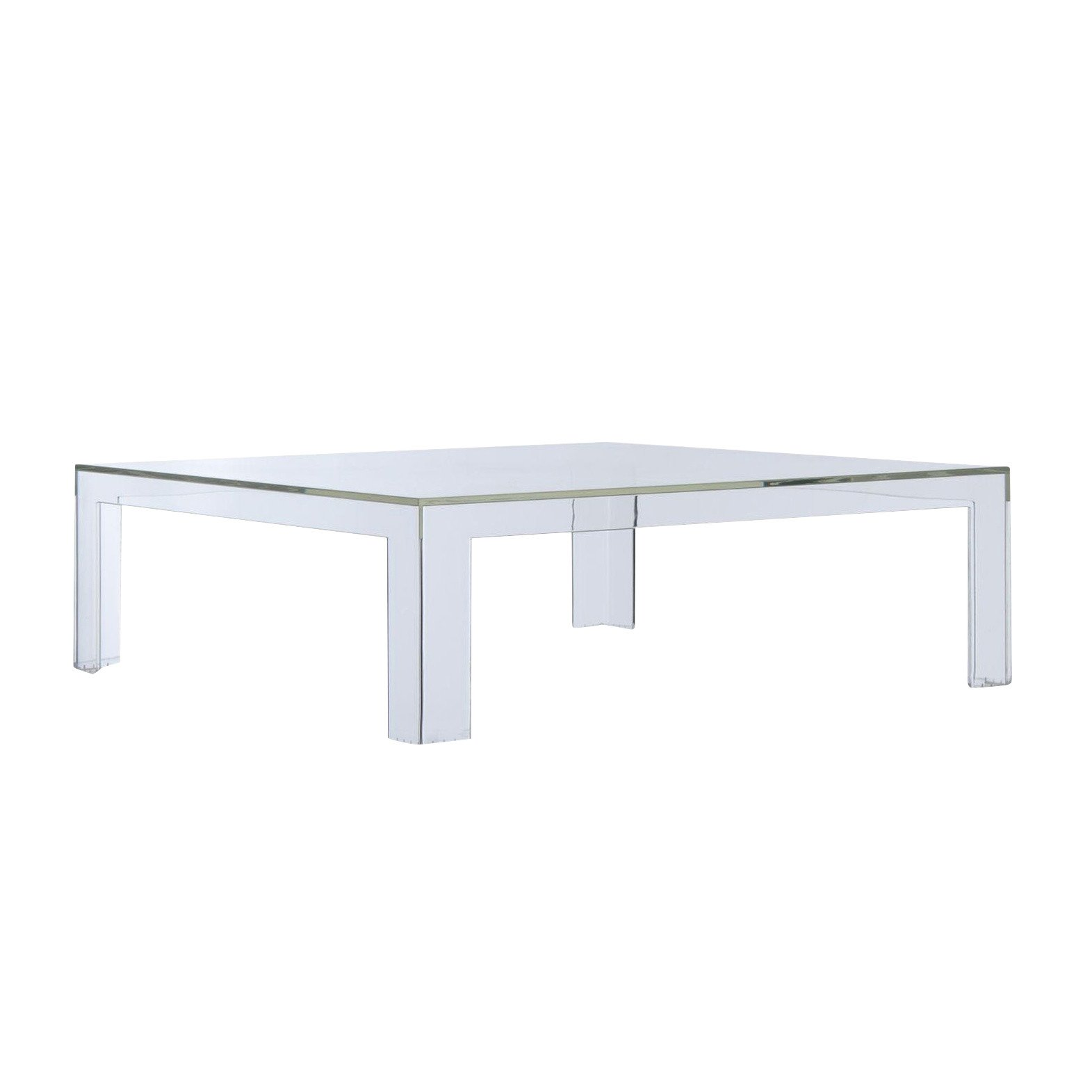 Kartell   Invisible Table Coffee Table   Crystal ...