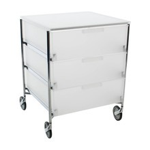 Kartell - Mobil 3 Container with wheels