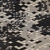 Nanimarquina - Losanges Carpet - black/white/afghan wool/230x300cm