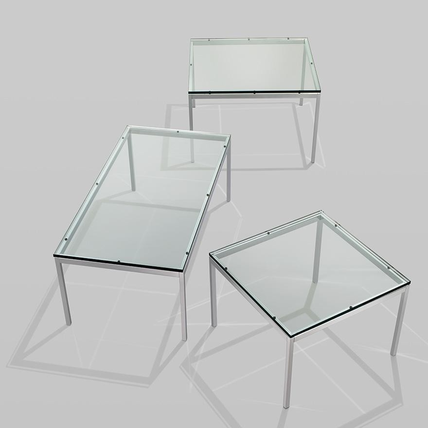 florence knoll table de salon 114x57cm knoll. Black Bedroom Furniture Sets. Home Design Ideas