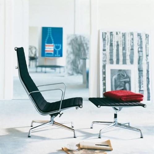 Vitra - EA 125 Aluminium Chair Ottoman