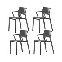 Arper - Juno 3602 Set Of 4 Armchairs
