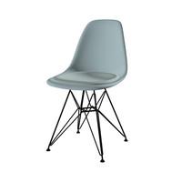 Vitra - Eames Plastic Side Chair DSR Stuhl gepolstert