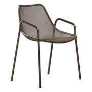 emu - Chaise de jardin avec accoudoirs Round