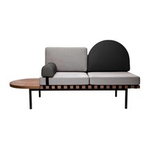 Petite Friture - Grid Daybed Gestell Nussbaum