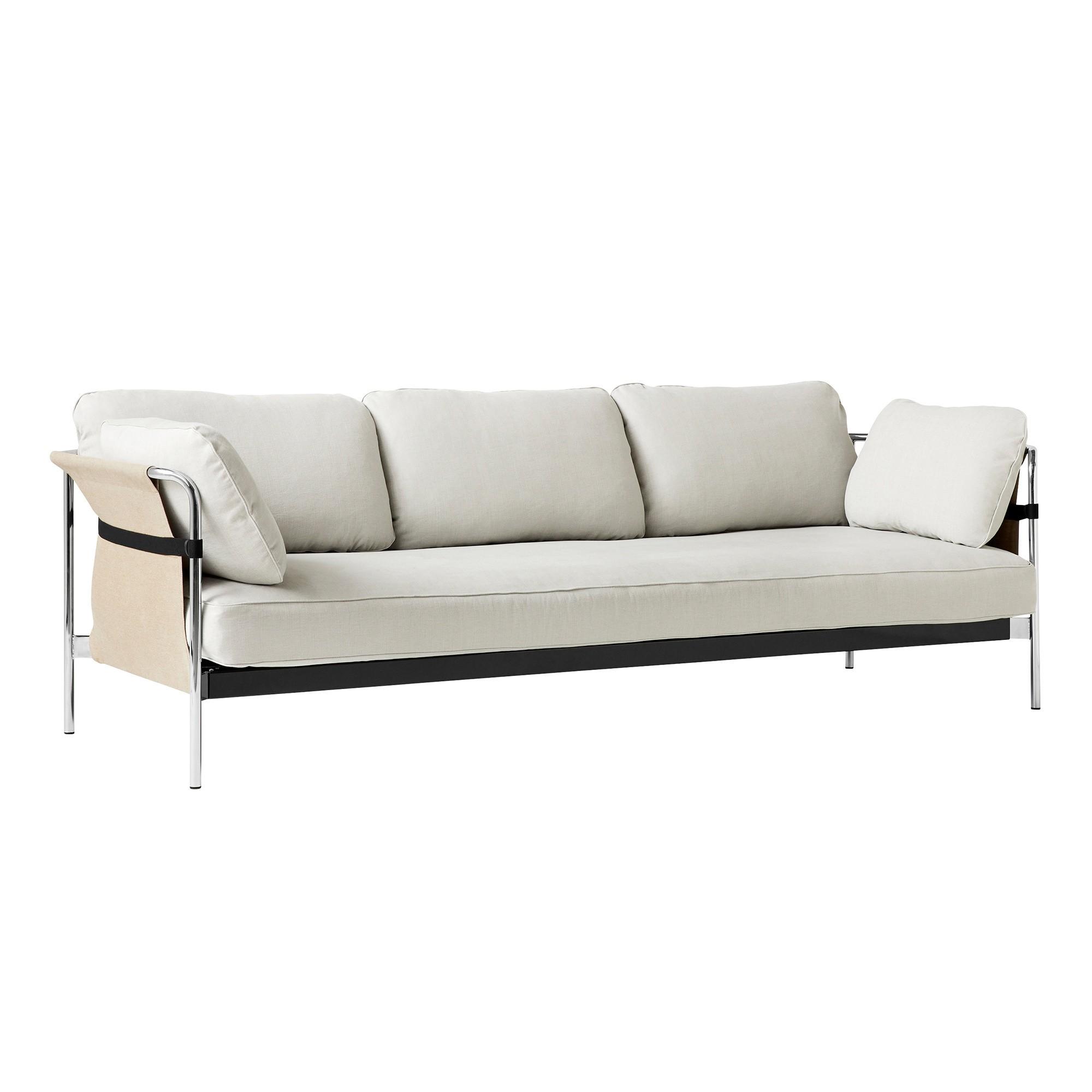 Can 2.0 3-Seater Sofa Frame Steel Chromed