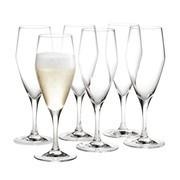 Holmegaard - Perfection - Lot de 6 verres à champagne