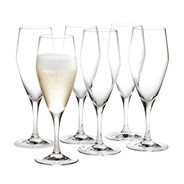 Holmegaard - Set de 6 verres à champagne Perfection