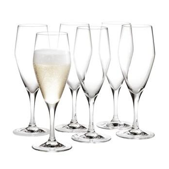 Holmegaard - Perfection Champagnerglas 6er Set