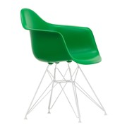 Vitra - Chaise avec accoudoirs Eames Plastic DAR structure