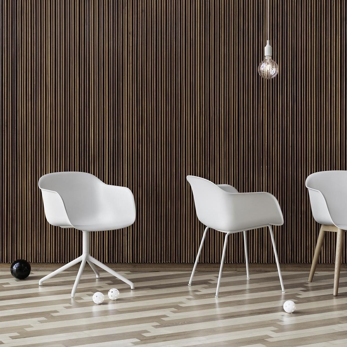 Fiber Chair Swivel Chair Muuto Ambientedirect Com