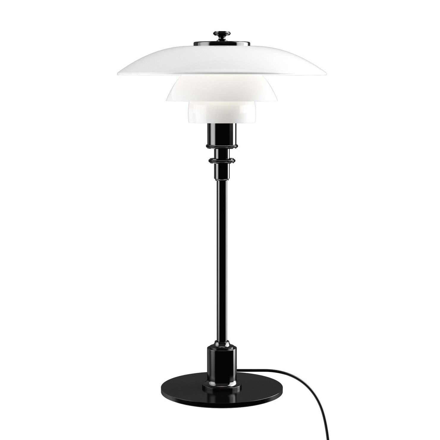 louis poulsen ph 2 1 table lamp ambientedirect. Black Bedroom Furniture Sets. Home Design Ideas