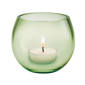Holmegaard - Cocoon Windlicht - spring hellgrün